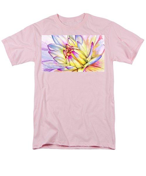Morning Flower Men's T-Shirt  (Regular Fit) by Janet Garcia
