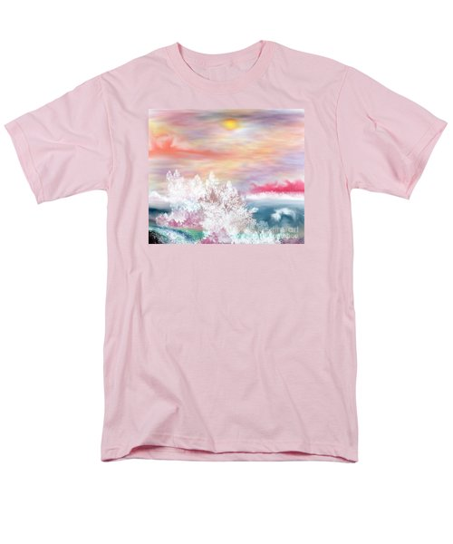 Men's T-Shirt  (Regular Fit) featuring the painting My Heaven by Lori  Lovetere