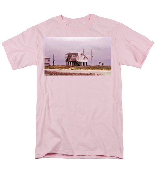 Old Galveston Men's T-Shirt  (Regular Fit) by Tikvah's Hope