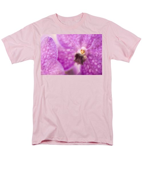 Men's T-Shirt  (Regular Fit) featuring the photograph Orchid by Bradley R Youngberg