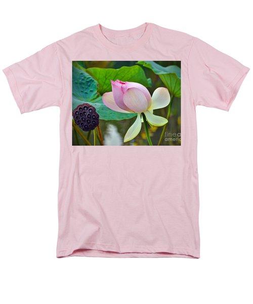 Pink Lotus Men's T-Shirt  (Regular Fit) by Savannah Gibbs