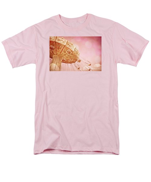 Carnival - Pretty In Pink Men's T-Shirt  (Regular Fit) by Colleen Kammerer