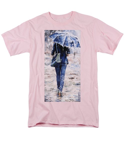 Rainy Day #22 Men's T-Shirt  (Regular Fit) by Emerico Imre Toth