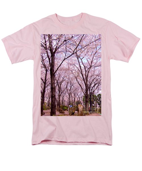Sakura Tree Men's T-Shirt  (Regular Fit) by Andrea Anderegg
