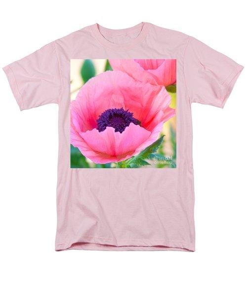 Seductive Poppy Men's T-Shirt  (Regular Fit) by Roselynne Broussard