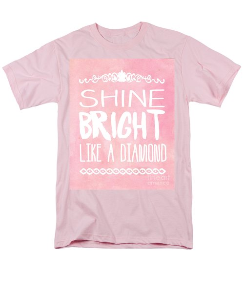 Shine Bright Men's T-Shirt  (Regular Fit)