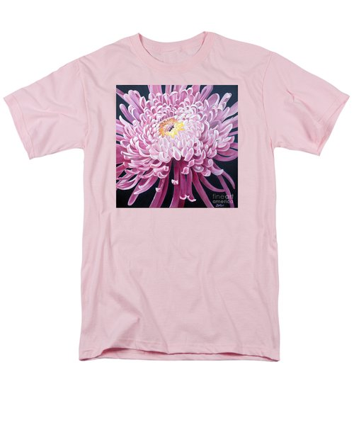 Men's T-Shirt  (Regular Fit) featuring the painting Spider Mum by Debbie Hart
