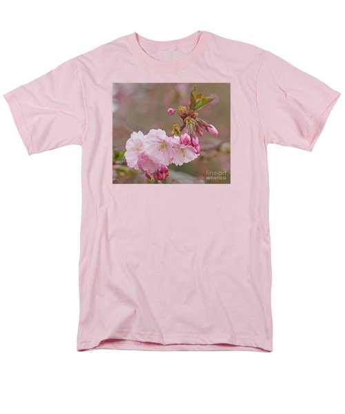 Men's T-Shirt  (Regular Fit) featuring the photograph Spring Blossoms by Rudi Prott