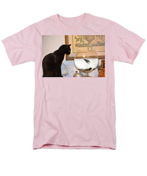 Stand Off Men's T-Shirt  (Regular Fit) by Janice Spivey