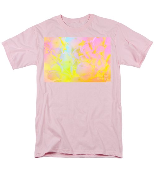 Men's T-Shirt  (Regular Fit) featuring the photograph Summer Joy Abstract by Judy Palkimas