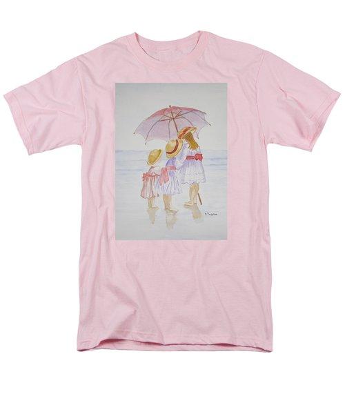 Sunday Best At The Beach Men's T-Shirt  (Regular Fit) by Elvira Ingram