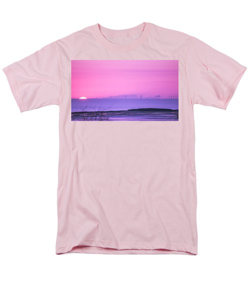 Sunset Men's T-Shirt  (Regular Fit) by Spikey Mouse Photography