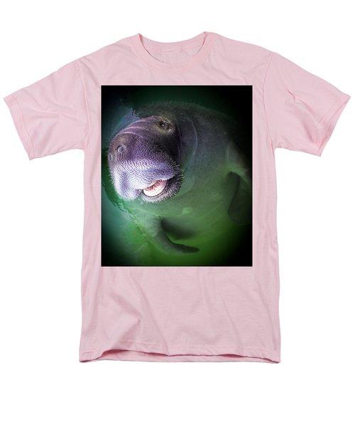 The Happy Manatee Men's T-Shirt  (Regular Fit)