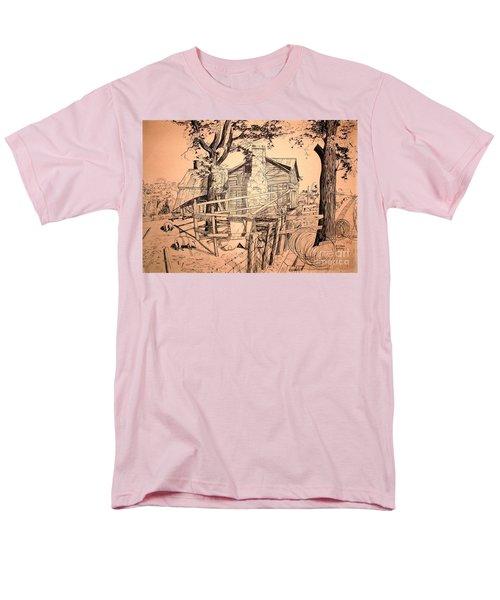 The Pig Sty Men's T-Shirt  (Regular Fit) by Kip DeVore