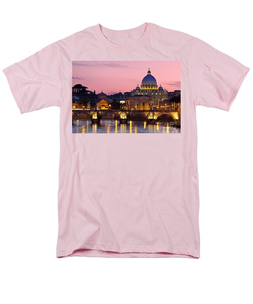 Vatican Twilight Men's T-Shirt  (Regular Fit) by Brian Jannsen