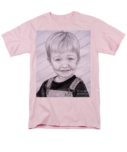 Men's T-Shirt  (Regular Fit) featuring the drawing Brady by Julie Brugh Riffey