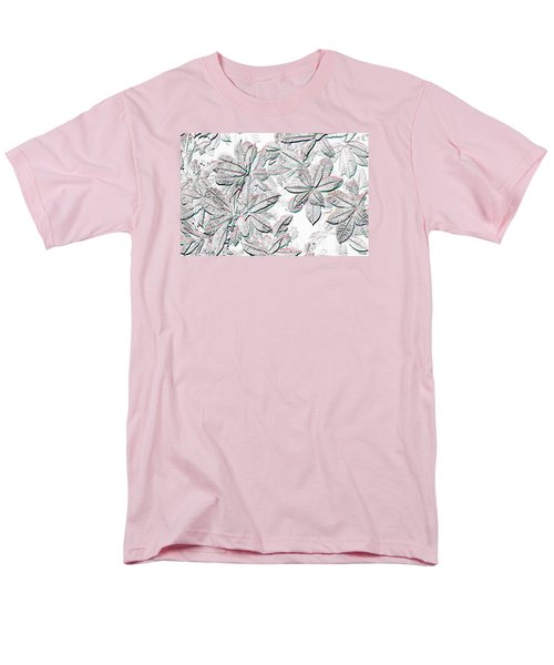 Men's T-Shirt  (Regular Fit) featuring the photograph Embossed Crotons by Tom Wurl