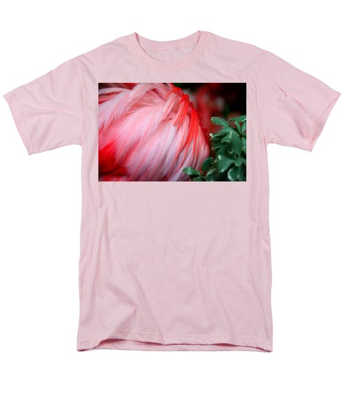 Men's T-Shirt  (Regular Fit) featuring the photograph Flora And Fauna Number One by Lon Casler Bixby