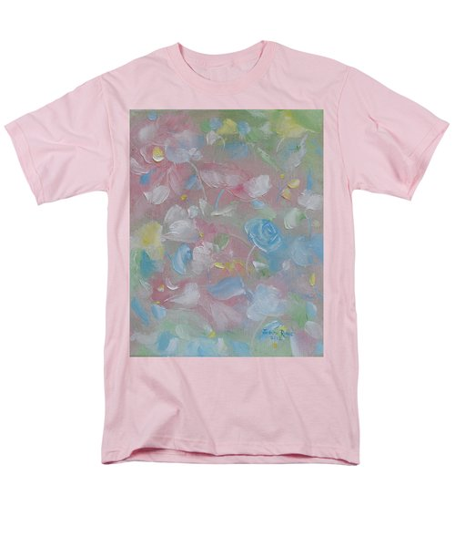 Men's T-Shirt  (Regular Fit) featuring the painting Softly Spoken by Judith Rhue