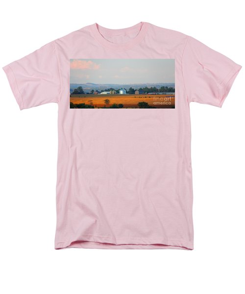 Men's T-Shirt  (Regular Fit) featuring the photograph The Countryside by Davandra Cribbie