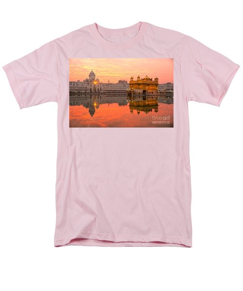 Men's T-Shirt  (Regular Fit) featuring the photograph  Golden Temple by Luciano Mortula