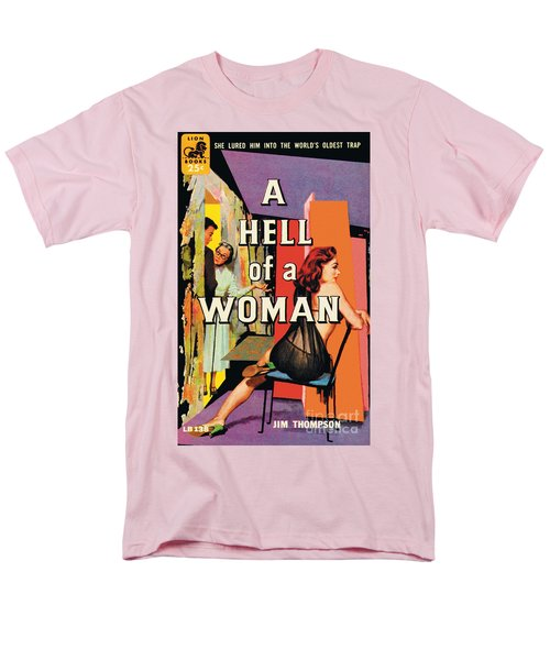 A Hell Of A Woman Men's T-Shirt  (Regular Fit) by Morgan Kane