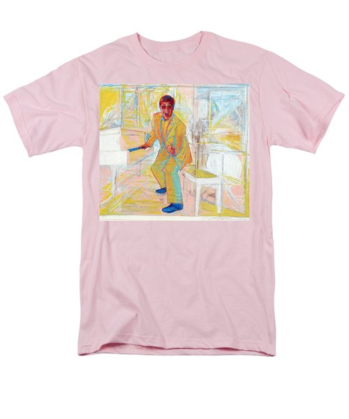 Elton John Men's T-Shirt  (Regular Fit) by Martin Cohen