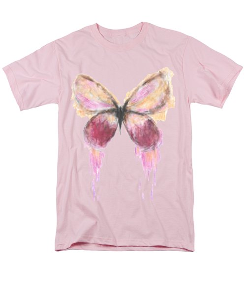 Flutterby  Men's T-Shirt  (Regular Fit) by Herb Strobino