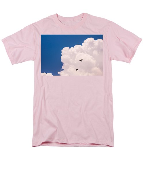 Men's T-Shirt  (Regular Fit) featuring the photograph Flying Free by Jenny Rainbow