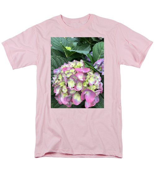 Men's T-Shirt  (Regular Fit) featuring the photograph Hydrangea by Kay Gilley