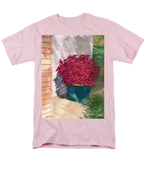 Men's T-Shirt  (Regular Fit) featuring the painting In The Morning by Melly Terpening