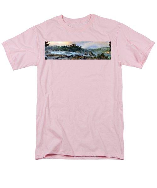 Rhinefalls, Switzerland Men's T-Shirt  (Regular Fit) by Elenarts - Elena Duvernay photo