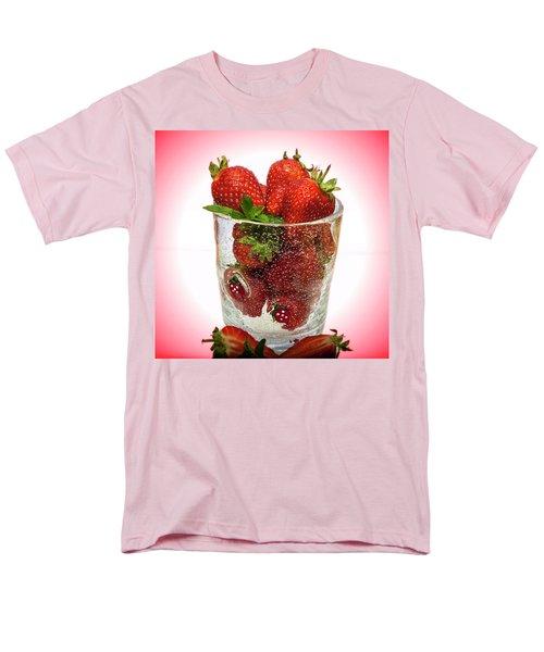 Strawberry Dessert Men's T-Shirt  (Regular Fit)