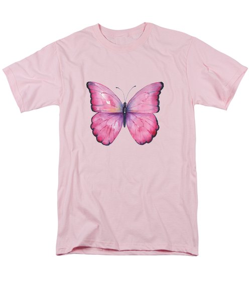 105 Pink Celestina Men's T-Shirt  (Regular Fit)