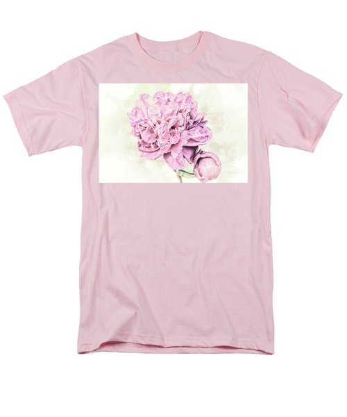 10861 Spring Peony Men's T-Shirt  (Regular Fit) by Pamela Williams