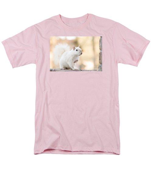 White Squirrel Men's T-Shirt  (Regular Fit) by Vizual Studio