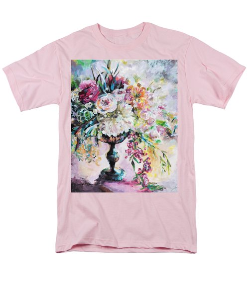 Abstract Floral Men's T-Shirt  (Regular Fit)