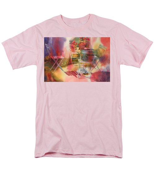 Afternoon Light Giverny, France Men's T-Shirt  (Regular Fit) by Tara Moorman