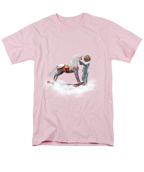 Men's T-Shirt  (Regular Fit) featuring the digital art If We Believe by Shanina Conway