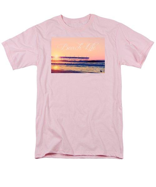 Men's T-Shirt  (Regular Fit) featuring the photograph Beach Life by Kelly Nowak
