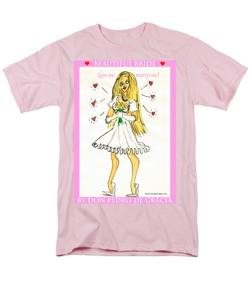 Beautiful Bride Men's T-Shirt  (Regular Fit) by Don Pedro De Gracia