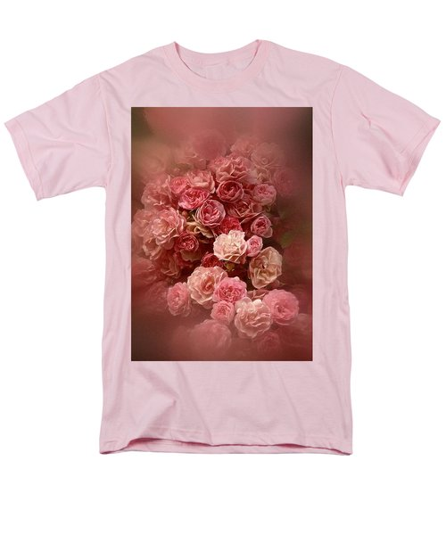 Beautiful Roses 2016 Men's T-Shirt  (Regular Fit) by Richard Cummings