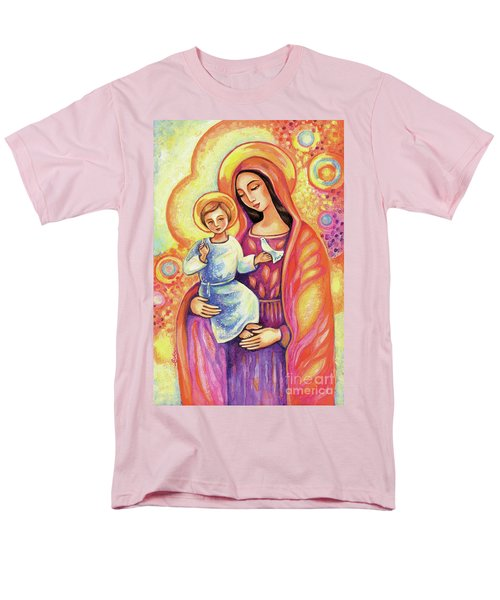 Men's T-Shirt  (Regular Fit) featuring the painting Blessing Of The Light by Eva Campbell