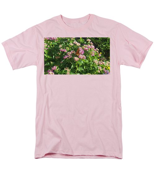 Blossoms And Wings #2 Men's T-Shirt  (Regular Fit) by Rachel Hannah