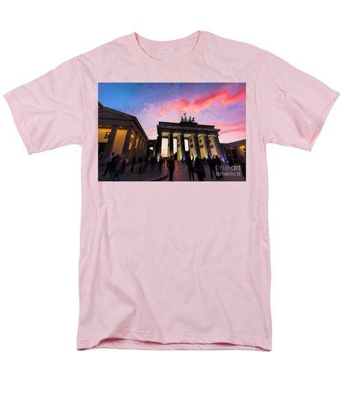 Branderburg Gate Men's T-Shirt  (Regular Fit) by Pravine Chester
