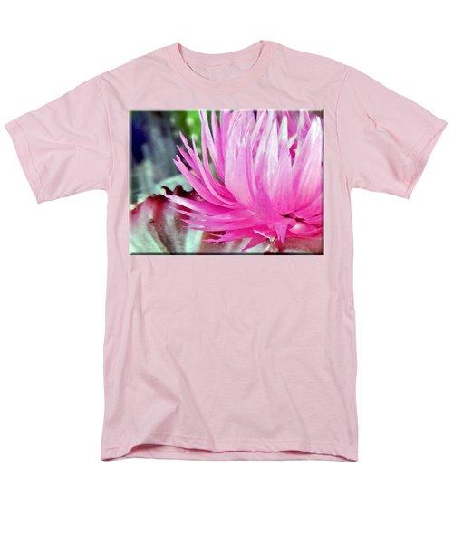Cactus Flower Men's T-Shirt  (Regular Fit) by Mikki Cucuzzo