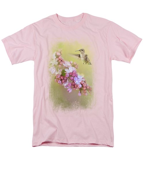 Chasing Lilacs Men's T-Shirt  (Regular Fit)