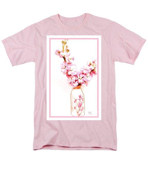 Men's T-Shirt  (Regular Fit) featuring the digital art Chinese Bouquet by Marsha Heiken