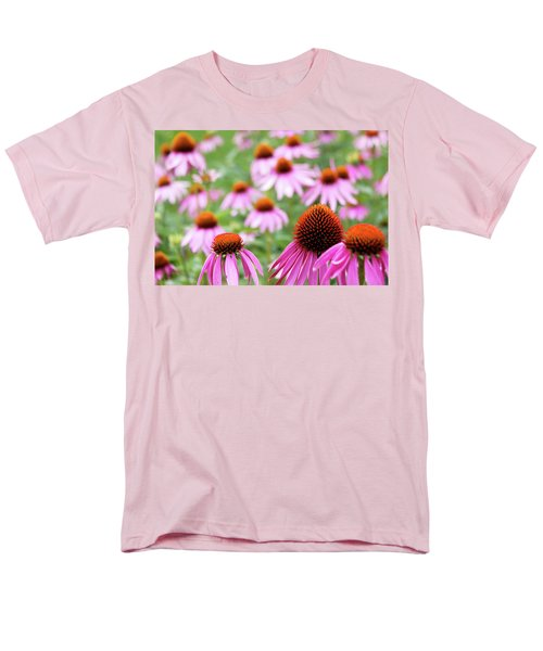 Coneflowers Men's T-Shirt  (Regular Fit) by David Chandler