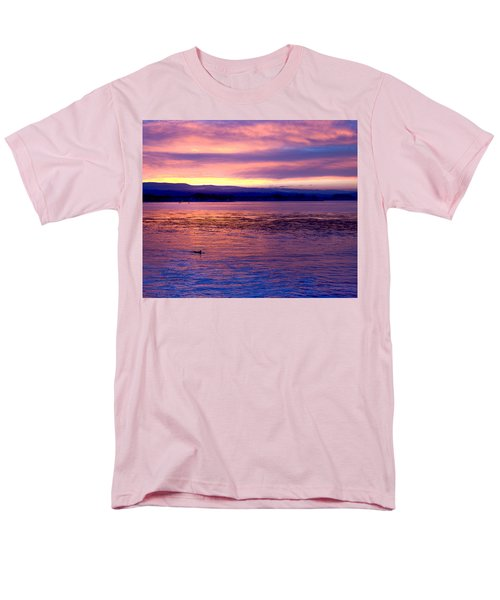 Dawn Patrol Men's T-Shirt  (Regular Fit) by Lora Lee Chapman